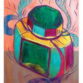 Mi Proyecto del curso: Laboratorio gráfico de ilustración. Un progetto di Illustrazione, Creatività, Disegno, Design di poster , Disegno artistico, Pittura acrilica, Sketchbook e Illustrazione con inchiostro di Arlette Cassot - 27.09.2021
