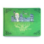 Travelbook of Paris. Un proyecto de Ilustración, Arquitectura, Diseño editorial, Bocetado y Sketchbook de Lapin - 28.09.2021
