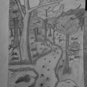 31 days 31 drawings 2021. Un proyecto de Dibujo a lápiz, Dibujo e Ilustración de Cristina Canul - 01.09.2021