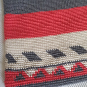 Meu projeto do curso: Tapestry: técnica de crochê para desenhar com linha. Un projet de Création d'accessoires, Mode, Création de motifs, Tissage, DIY , et Crochet de sandra_catarino - 30.09.2021