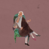 Le Nozze di Figaro. Ispirato a Mozart.. A Illustration, and Digital illustration project by Gianluca Manna - 10.05.2021