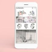 Mi Proyecto del curso: Creación de un porfolio de ilustración en Instagram. Um projeto de Ilustração, Social Media, Ilustração digital, Desenvolvimento de Portfólio, Instagram e Design para Redes Sociais de Noelia de Alda - 05.10.2021