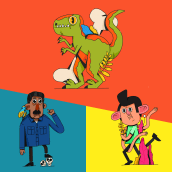 Personajes en PROCREATE. Un proyecto de Ilustración de Jim Palacio - 09.08.2020