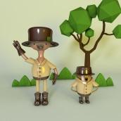 proyecto Axl Rivera :D. Un proyecto de 3D, Diseño de personajes, Modelado 3D y Diseño de personajes 3D de Axl Rivera - 13.10.2021