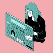 Clickbait - Telos 115. A Illustration project by Laura Wächter - 12.23.2020