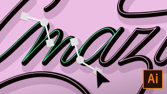 Curso 4 - Crea tus propias letras. Un curso de  de Andrés Ochoa