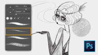 Kurs 2 - Werkzeuge zum Skizzieren, Zeichnen und Verfolgen. A  course by Gemma Román