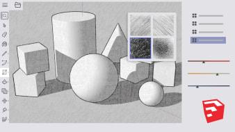 Kurs 4 - Materialien, Texturen und Grafikstile. A  course by Alejandro Soriano