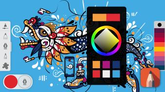 Course 4 - Coloring. A  course by Paulo Villagrán