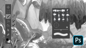 Curso 3: Esboço digital em preto e branco. Um curso de  de Kamui MG