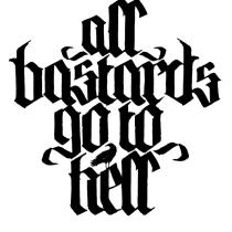 Mi Proyecto del curso Caligrafía y lettering para manos inquietas. A T, and pograph project by victor broch - 03.26.2015