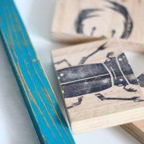 Proyecto Carvado de sellos y técnicas de estampación (explorando nuevas opciones). A Crafts project by austin553 - 10.16.2015