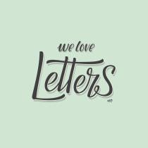 We Love Letters. Un proyecto de Diseño, Ilustración, Diseño de producto y Tipografía de Ignacio Rodriguez Acosta - 21.10.2015