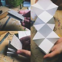 Mi proyecto en Técnicas de Encuadernación . Um projeto de Artesanato de Sonia Vega - 14.02.2016