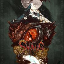 SMAUG EL TERRIBLE. Un pequeño homenaje al último gran dragón. Un proyecto de Ilustración y Bellas Artes de Francisco José Palacios Bejarano - 24.07.2016