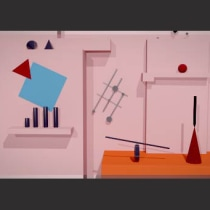 Mi Proyecto del curso: Animación de cortinillas de televisión con Motion Graphics. Un proyecto de 3D y Animación de maria galarza - 03.11.2016
