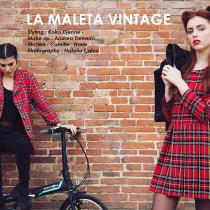 LA MALETA VINTAGE. A Design, Fotografie und Mode project by natalia calvo - 08.11.2016