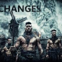 "Mi Proyecto: Retoque de Película ""Changes"". Um projeto de Design de Reynaldo Mallea - 24.12.2016"