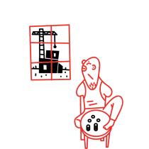 Proyecto del curso: Ilustración, nudo y desenlace. Los caníbales generosos. Um projeto de Ilustração de Eduard Altarriba - 29.12.2016