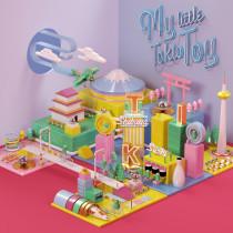 My Little Tokio Toy . A Illustration, 3-D, Animation, Kunstleitung und Grafikdesign project by Misa Urban - 18.01.2017
