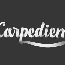 Lettering carpediem. Um projeto de Design gráfico e Tipografia de marcortegaosso - 20.01.2017