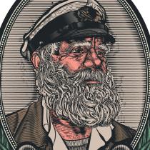 Red Sailor. A Illustration project by Juan Olguín - 04.18.2017