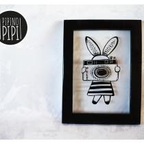 Serigrafía e Ilustración para PIPINO PIPI; Arte para los mas chiquitos. Un proyecto de Diseño, Ilustración, Diseño de personajes, Artesanía y Serigrafía de Yanina ARAVENA - 15.05.2017