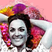 Lola: Retrato ilustrado con Photoshop. Um projeto de Ilustração de Vir Martín - 15.06.2017