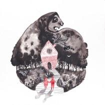 Hansel y Gretel por Luisa Jung. A Illustration project by Luisa Jung - 10.09.2017