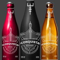Mi Proyecto del curso: Branding y Packaging para una Cerveza Artesanal. Um projeto de Design, Ilustração, Br, ing e Identidade, Design gráfico, Design de produtos e Naming de Luis Barajas - 15.12.2017