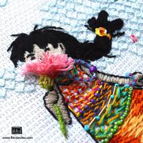 Flores del campo. A Design, Illustration, and Crafts project by Flor de Vita Amaro - 01.24.2018