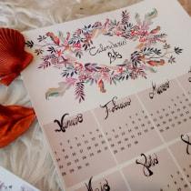 Calendario 2018. Um projeto de Design, Artes plásticas, Escrita e Lettering de sanmalbe - 01.02.2018
