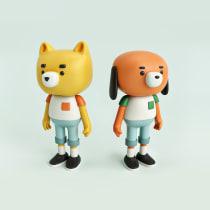 Moñequitos. A 3-D, Design von Figuren und Spielzeugdesign project by Alberto Pozo - 20.02.2018