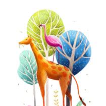 Mi Proyecto del curso: Ilustración digital con lápices de colores. Un proyecto de Ilustración y Diseño de personajes de martapinedainfo - 08.03.2018