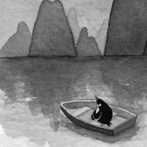Mi Proyecto del curso: Introducción a la ilustración con tinta china. Um projeto de Ilustração de nadia_santos - 11.03.2018