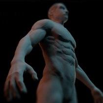Estudio de Anatomia con ZBrush. Un proyecto de 3D de Manuel Helbling - 06.05.2018