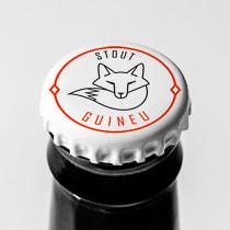 Mi Proyecto del curso: Branding y Packaging para una Cerveza Artesanal. Um projeto de Design gráfico e Packaging de Raquel Altimira - 03.05.2018