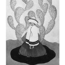 Mi Proyecto del curso: Introducción a la ilustración con tinta china. Um projeto de Ilustração de Esmeralda Barrón Padilla - 10.06.2018