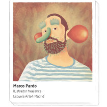 Portfolio Marco Pardo Ilustra. A Illustration, Art Direction, Digital illustration, and Portrait illustration project by Marco Pardo - 07.19.2018