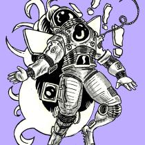 Mundo Ojo: un cómic. A Illustration, Comic, and Drawing project by José López - 08.30.2018