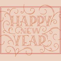 Lettering: Happy new year. Um projeto de Lettering de Ariadna Aran - 14.09.2018