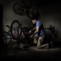bicicletas LUZ FANTASMA. A Photograph project by sebu - 09.16.2018