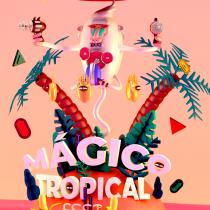 Mágico tropical fest. A Digitale Illustration project by Renata Cont - 03.10.2018