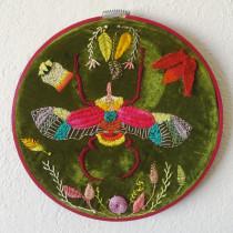 Mi Proyecto del curso: Escarabajo. Um projeto de Bordado de Claudia Urizar - 25.11.2018
