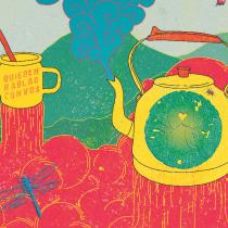 Mi Proyecto del curso: Diseño de merchandising para músicos. A Fine Art, Graphic Design, Painting, Vector Illustration, Creativit, Drawing, Digital illustration, and Artistic drawing project by Pablo Luanco - 11.29.2018