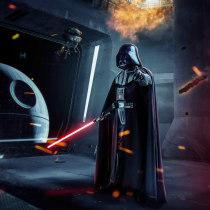 Star Wars Darth Vader. A Photo retouching project by Sandra Rangel - 12.11.2018