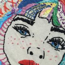 Mi Proyecto del curso: Técnicas de bordado: ilustrando con hilo y aguja. Um projeto de Ilustração e Bordado de Lidia Cantos - 11.01.2019