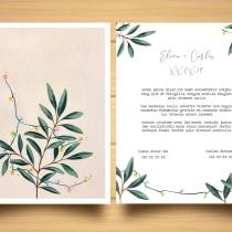 Mi Proyecto del curso: Invitación de boda. A Events project by Marina Benito - 16.01.2019