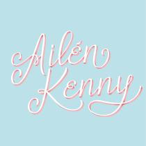Mi Proyecto del curso: Lettering cursivo para logotipos. Un proyecto de Lettering de Ailen Kenny - 16.01.2019