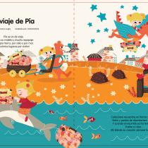 Mi Proyecto del curso: Ilustración infantil para publicaciones editoriales. Un progetto di Illustrazione vettoriale e Illustrazione digitale di Carolina Falcone - 17.02.2019
